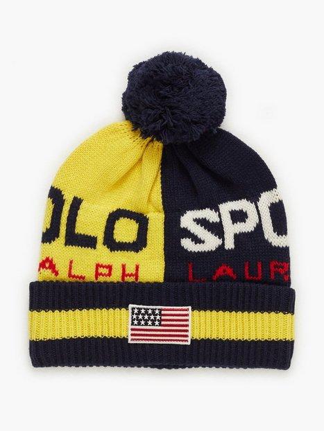 Polo Ralph Lauren Colorblock Hat Huer Yellow - herre