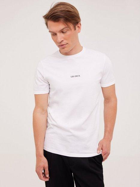 Les Deux Lens T-Shirt T-shirts & undertrøjer White