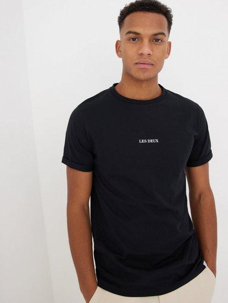 Les Deux Lens T-Shirt T-shirts & undertrøjer Black/White