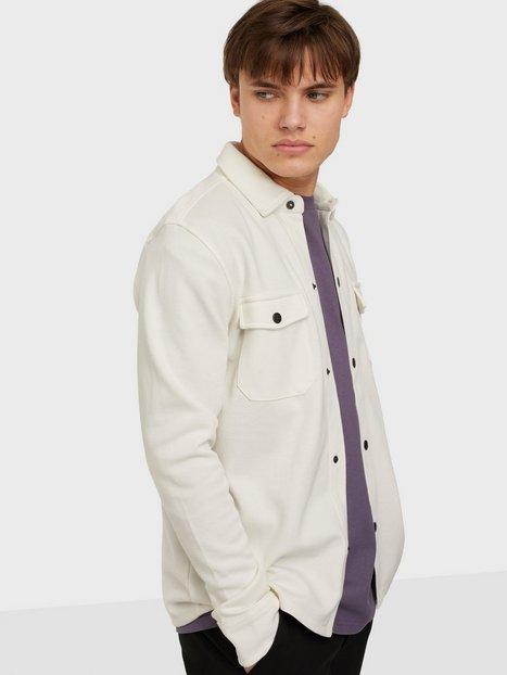 Selected Homme Slhjake Sweat Jacket W Skjorter Egret