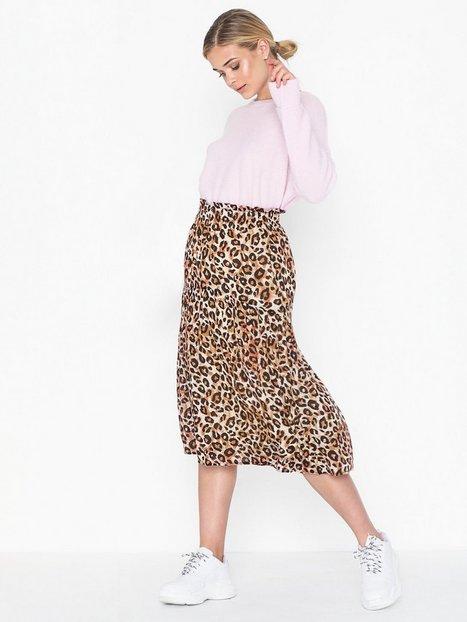 Billede af Selected Femme Slfleoni Hw Midi Skirt B Midi nederdele