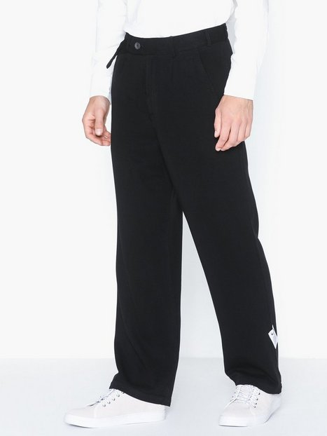 L'Homme Rouge Tactile Pants Tencel Bukser Black - herre
