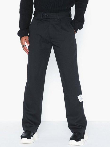 L'Homme Rouge Tradition Pants C2C Bukser Black - herre