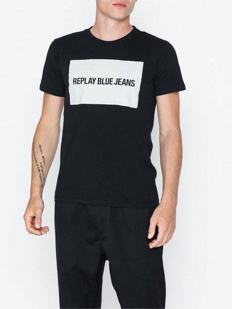 Replay T Shirt T shirts undertrøjer Sort - herre