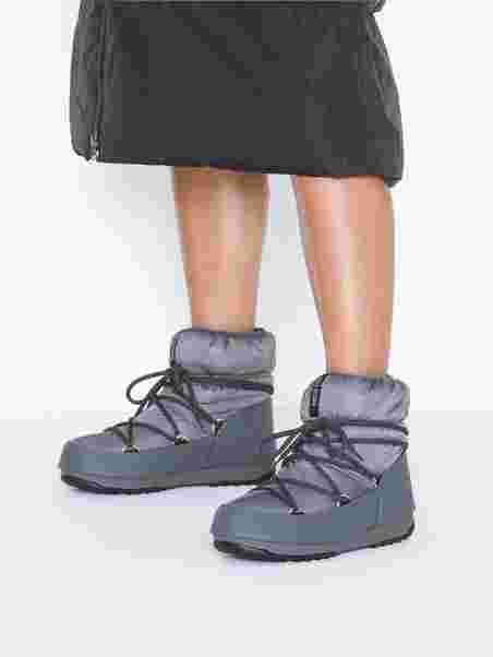 Kjøp Moon Boot Low Nylon Wp Castle Rock sko Online | FOOTWAY.no