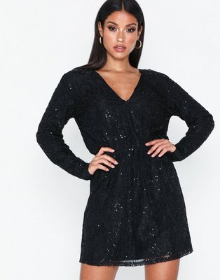NLY Trend Sequin Lace Dress Pailletkjoler