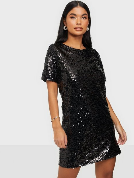 NLY Trend Sequin Shift Dress Pailletkjoler