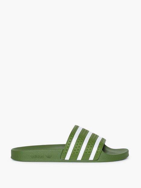 Adidas Originals Adilette Loafers slippers White mand køb billigt