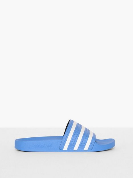 Adidas Originals Adilette Loafers slippers Blue White - herre