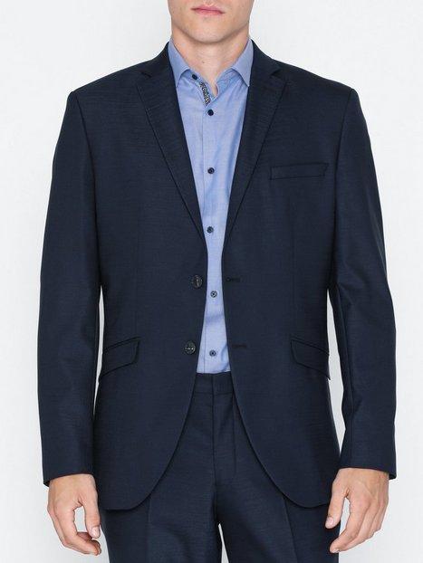 Selected Homme Slhslim Mylostate Dk Blue Blz B Noo Blazere jakkesæt Mørkeblå - herre