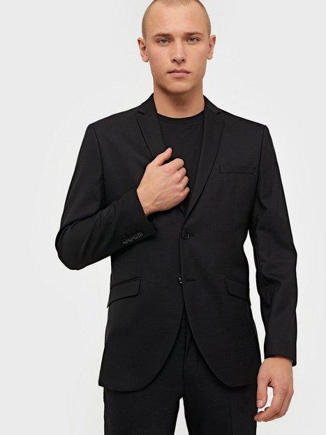 Selected Homme Slhslim Mylostate Black Blz B Noos Blazere jakkesæt Sort - herre