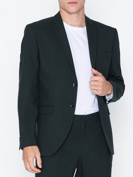 Selected Homme Slhslim Mylologan Dk Spruce Blz B N Blazere jakkesæt Mørkegrøn - herre