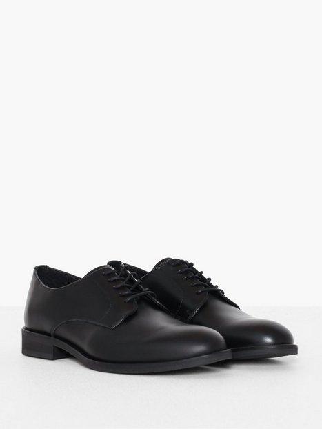 Selected Homme Slhlouis Leather Derby Shoe B Noos Elegante sko Sort - herre