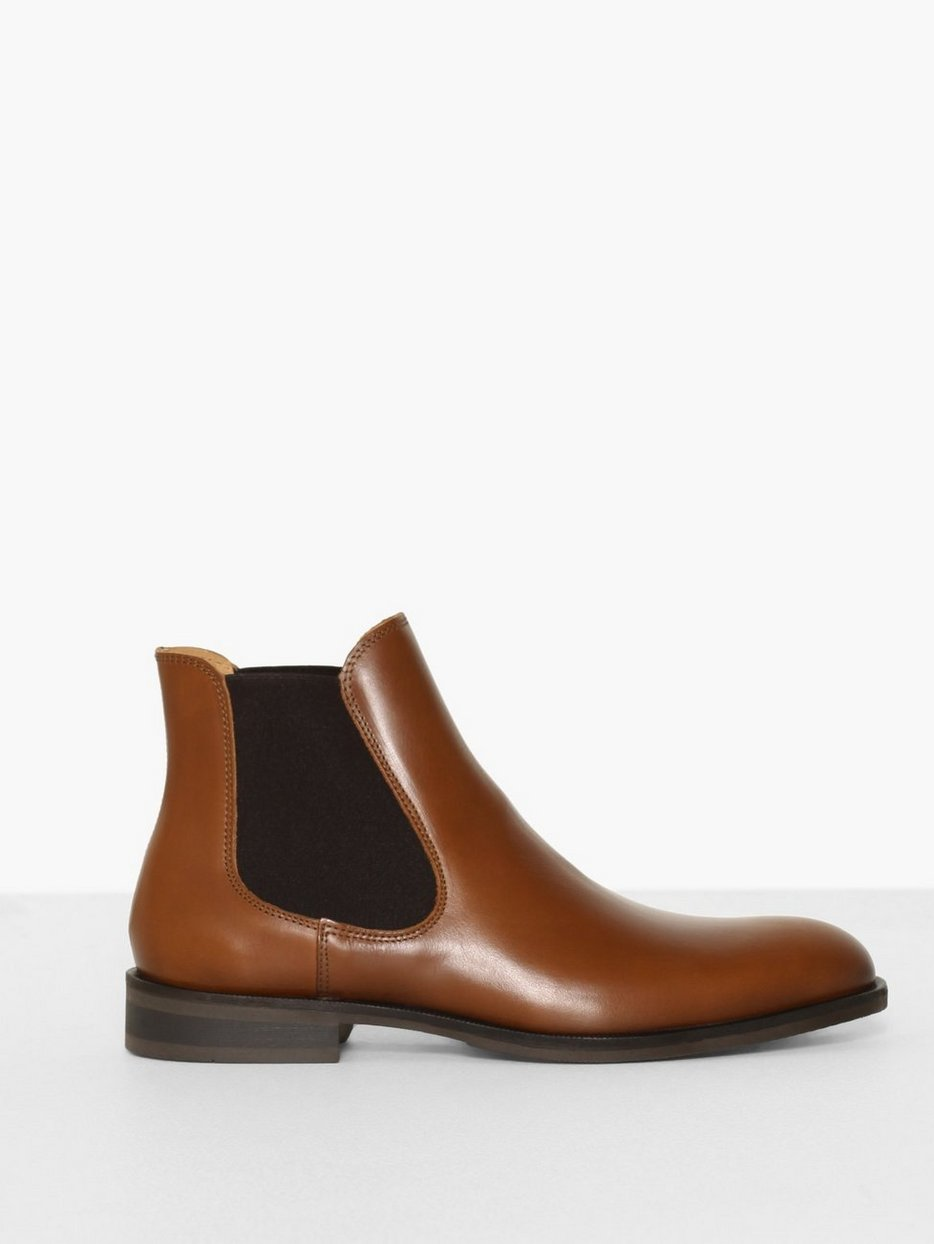 SLHLOUIS LEATHER CHELSEA BOOT B NOO