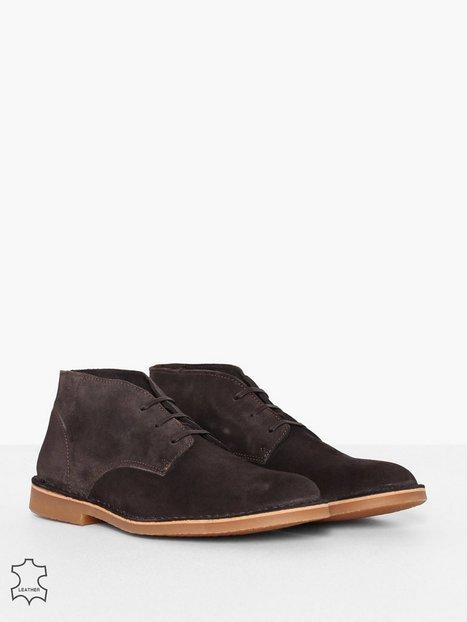 Selected Homme Slhroyce Desert Light Suede Boot W Elegante sko Brun - herre