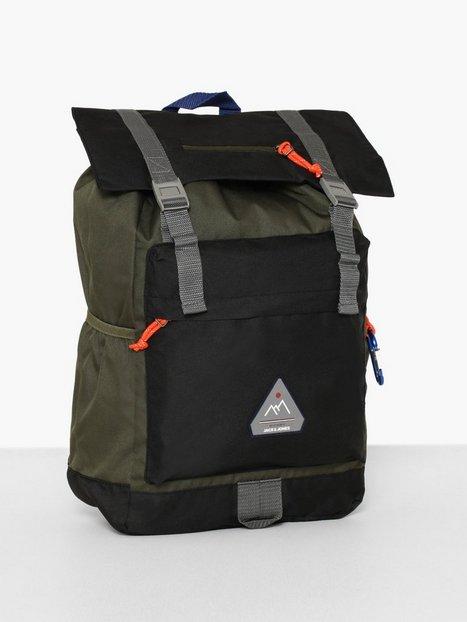 Jack Jones Jacchristian Backpack Tasker Black - herre