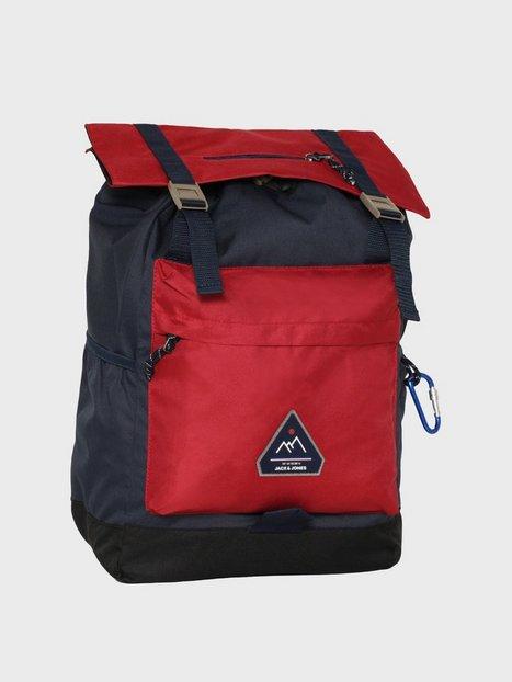 Jack Jones Jacchristian Backpack Tasker Red mænd køb billigt