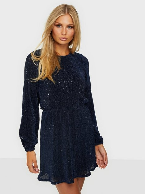 NLY Trend Balloon Sleeve Sequin Dress Pailletkjoler