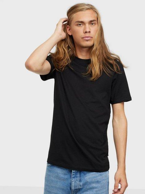 Jack & Jones Jjeorganic Basic Tee Ss O-Neck Noos T-shirts & undertrøjer Sort