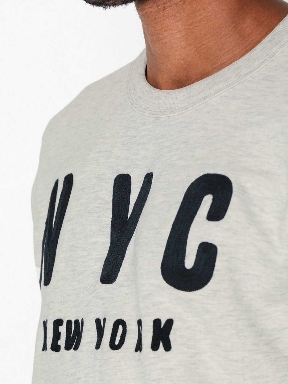 SLHSIMON CITY CREW NECK SWEAT W
