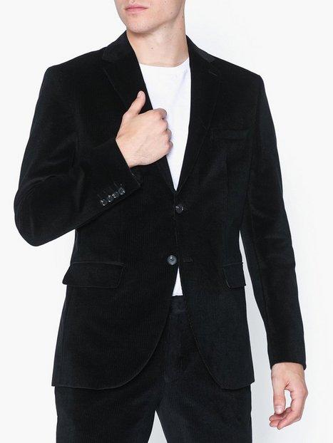 Selected Homme Slhslim Mylolind Black Blz B Blazere jakkesæt Sort mand køb