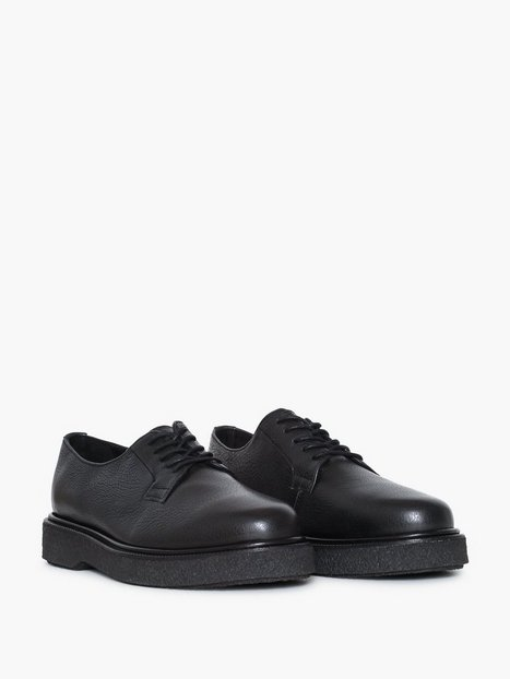 Selected Homme Slhstephan Leather Derby Shoe B Elegante sko Sort - herre