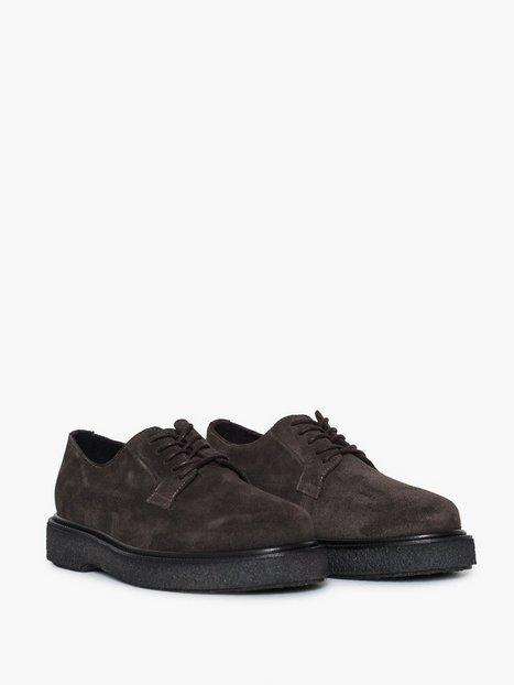 Selected Homme Slhstephan Suede Derby Shoe B Elegante sko Brun - herre