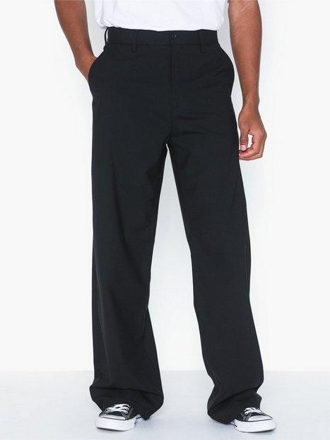 Hope Wind Trousers Bukser Black - herre