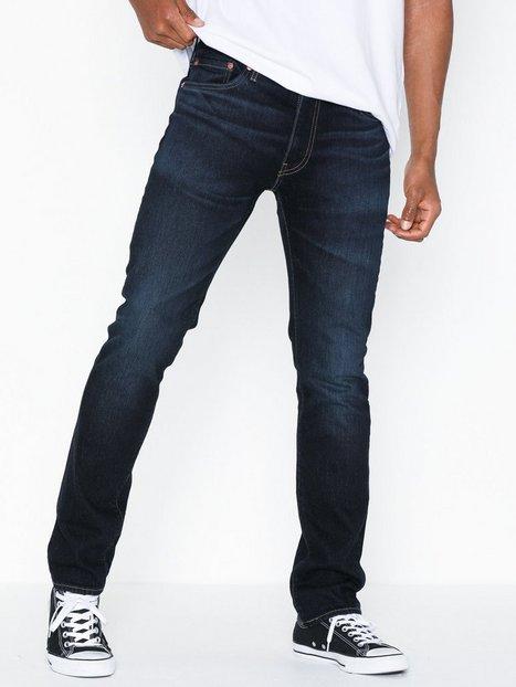 Levis 511 Slim Fit Durian Od Subtle Jeans Indigo - herre
