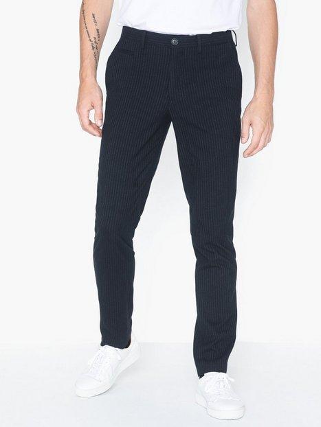 Selected Homme Slhslim Kent Pants B Bukser Navy Blazer - herre