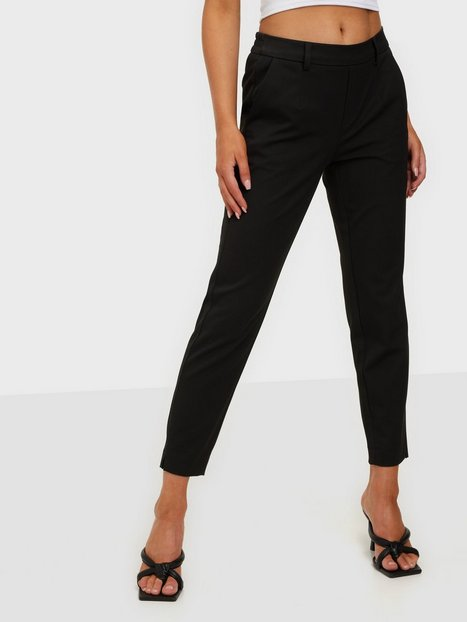 Object Collectors Item Objlisa Slim Pant Noos Bukser Sort