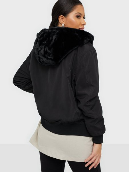 JDYKACY REVERSIBLE BOMBER JACKET OT Musta