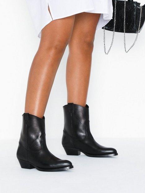 Billede af Pieces Psheart Leather Boot Heel