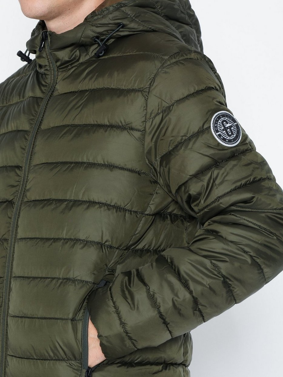 ONSSTEVEN QUILTED HOOD JACKET OTW N