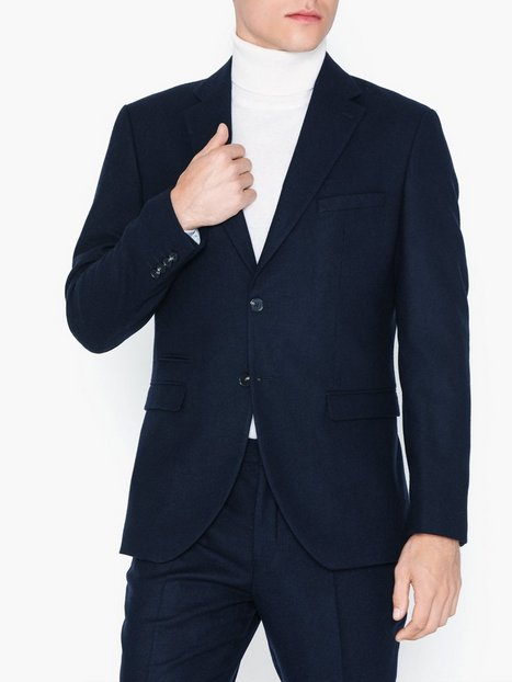 Selected Homme Slhslim Myloiver Dk. Blue Blz B Noo Blazere jakkesæt Mørkeblå - herre