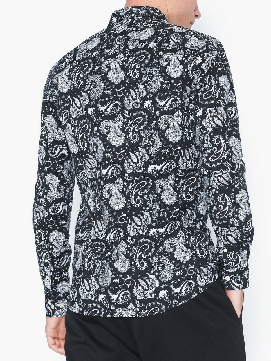 ONSFREDERIK LS PAISLEY STRETCHSHIRT