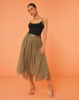 Ida Sjöstedt Flawless Skirt Midi nederdele Taupe