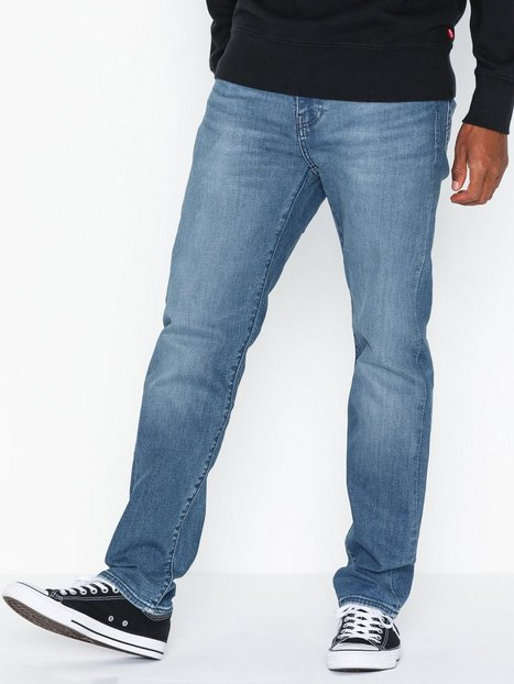 Levis 502 Taper Cedar Light Mid Over Jeans Denim Blå - herre