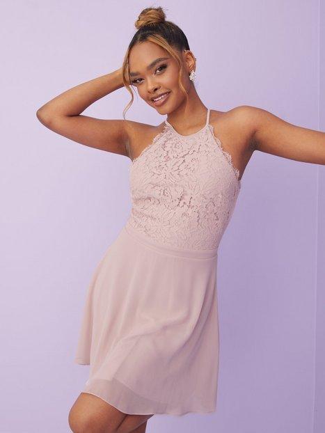 NLY Trend Adorable Sportscut Dress Skater kjoler Dusty Pink