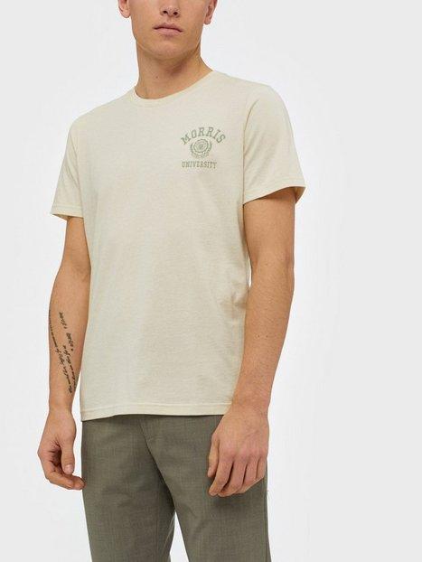 Morris Corby Tee T shirts undertrøjer Offwhite mand køb billigt