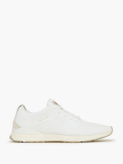 Gant Brentoon Sneaker Sneakers White mand køb billigt