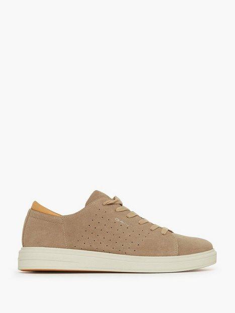 Gant Fairville Low lace shoes Sneakers Elephant mand køb billigt