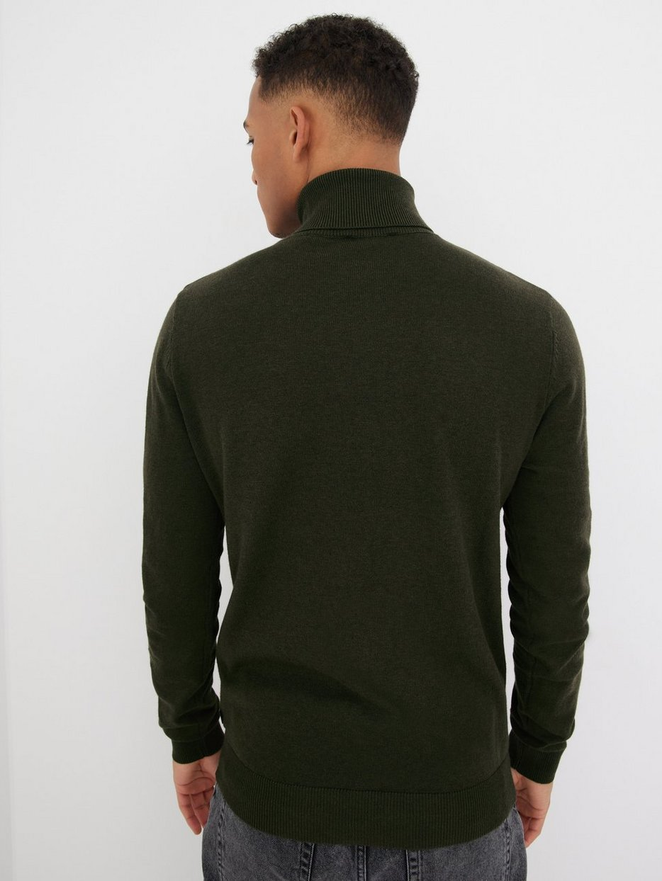 JJEEMIL KNIT ROLL NECK NOOS