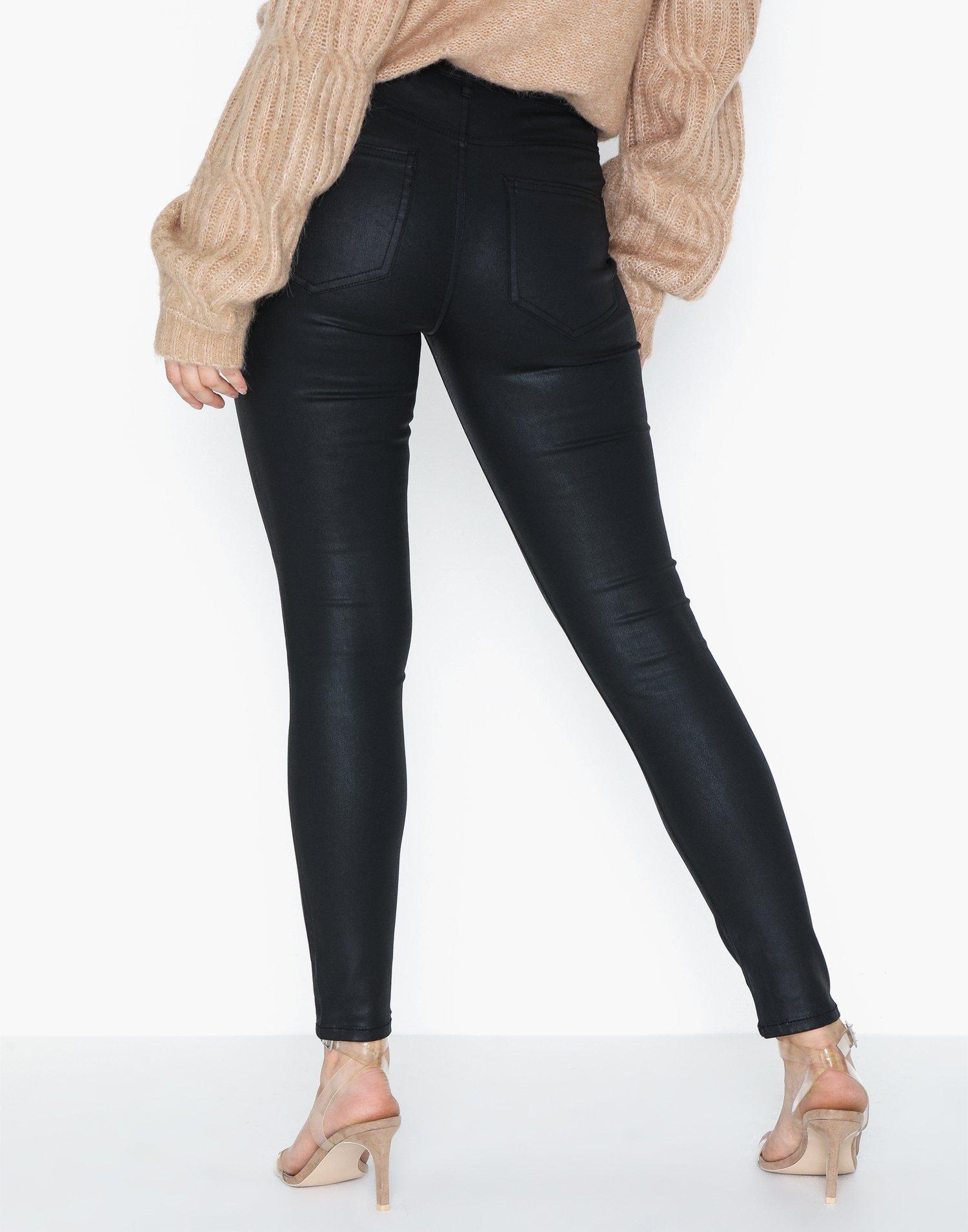S Donna Black Only ONLFHUSH Mid SK Ank Coat BB BJ14019 Noos Pantaloni Nero