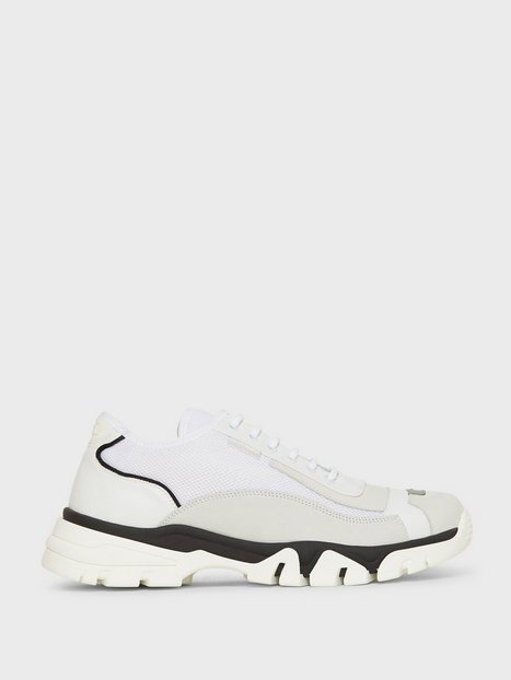 J Lindeberg Rory LT Sneaker-Mixed fabric Sneakers & textilskor White