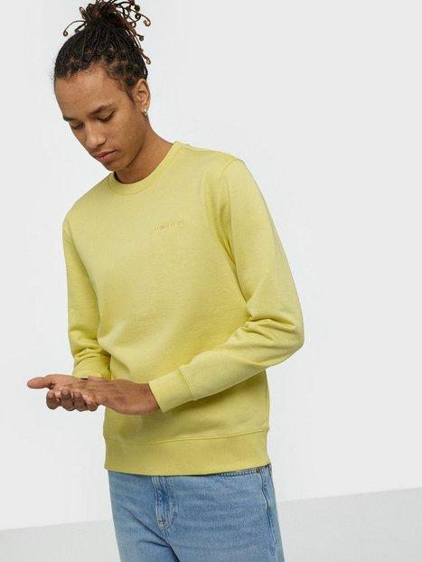 J Lindeberg Throw c-neck-Clean sweat Tröjor Yellow
