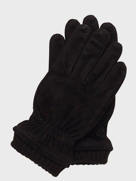 Jack Jones Jacvinny Suede Glove Handsker vanter Sort mænd køb billigt