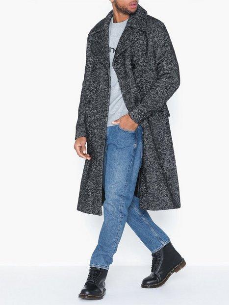 Premium by Jack Jones Jprfalcon Wool Coat Jakker frakker Mørkegrå - herre