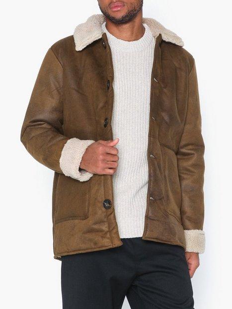 Only Sons Onslaust Jacket Sw 4481 Jakker frakker Mørkebrun - herre