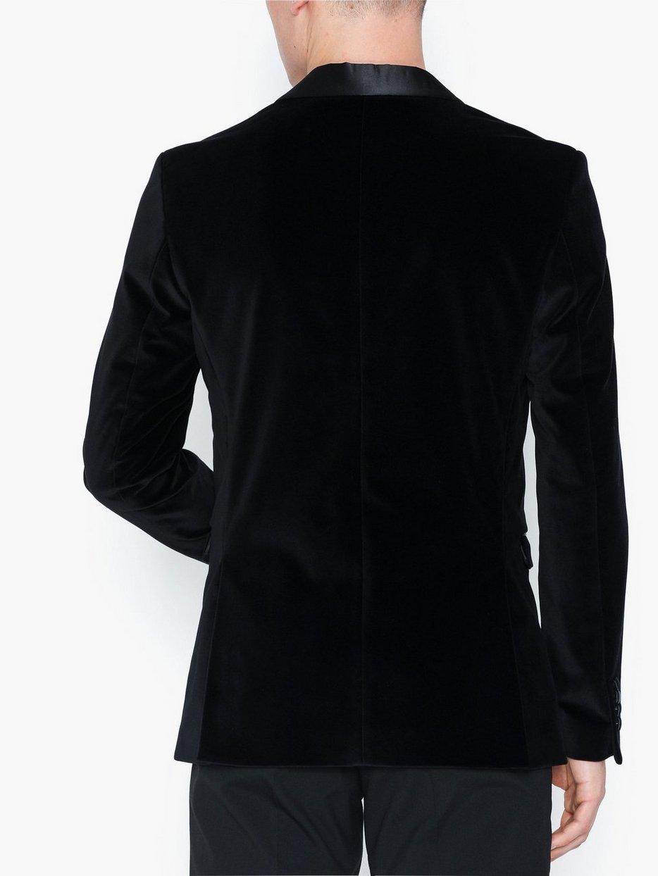 SLHSLIM-HICKVELVET BLACK BLZ B